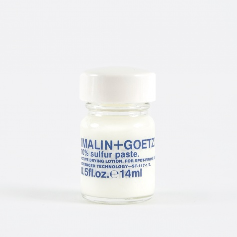 Malin+Goetz 10% Sulfur Paste - 14.75ml