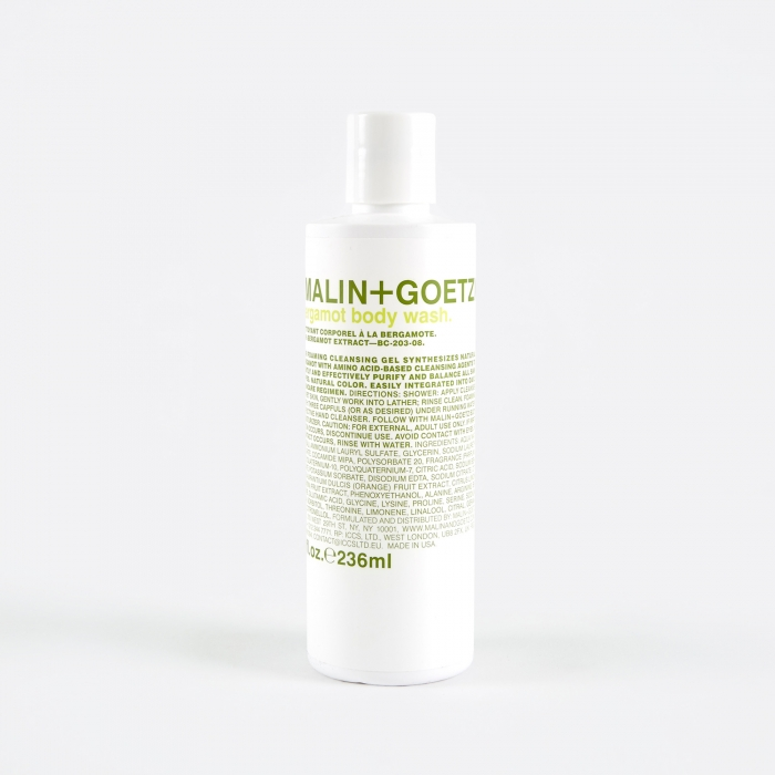 Malin + Goetz Malin+Goetz Bergamot Body Wash - 236ml (Image 1)