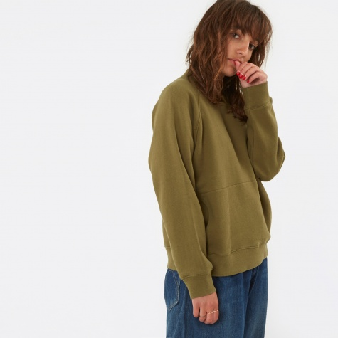 Touche Pocket Sweat - Olive