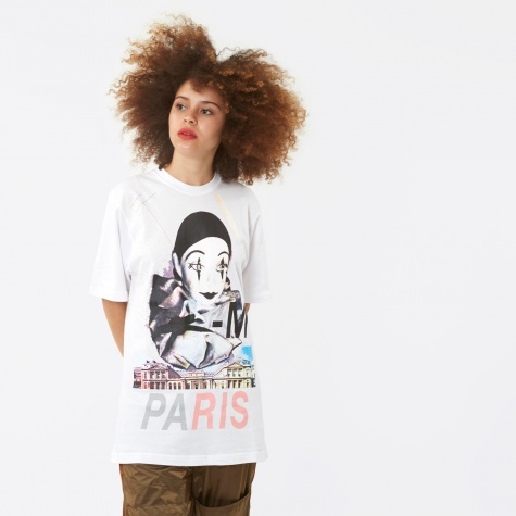 PAM Perks And Mini Paris S/S T-Shirt - White