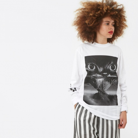 PAM Perks And Mini Volcano Eyes L/S T-Shirt - White