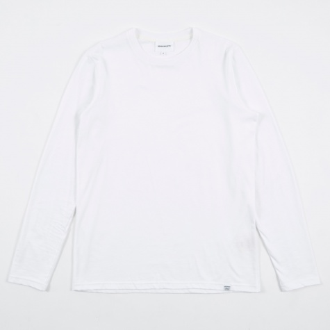 Niels Standard Longlseeve T-Shirt - White