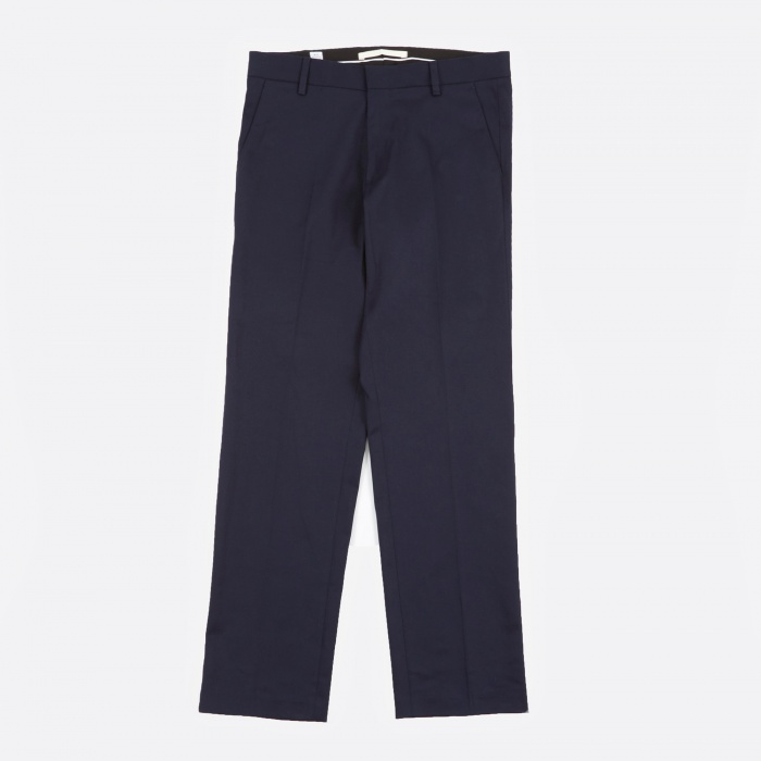 Norse Projects Haga Stretch Twill Pant - Navy (Image 1)