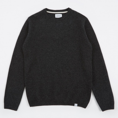 Sigfred Lambswool Knit - Charcoal