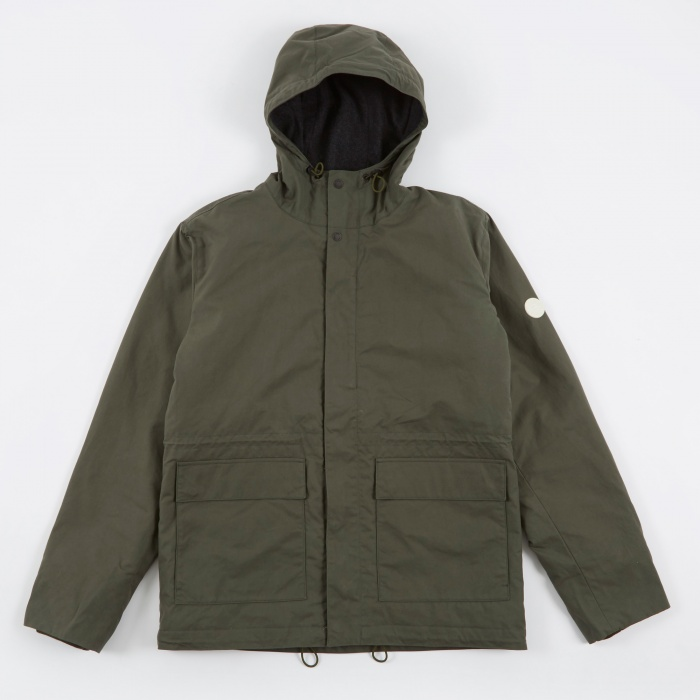 Norse Projects Nunk Classic Jacket - Dried Olive (Image 1)