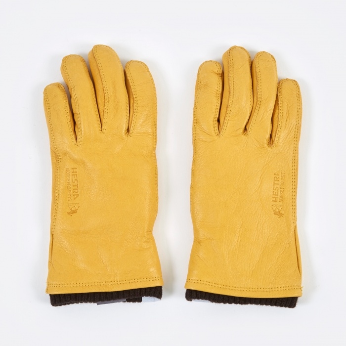 Norse Projects x Hestra Utsjo Gloves - Rapeseed (Image 1)