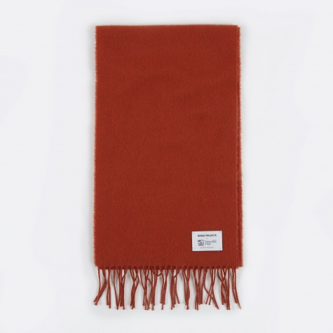 x Johnstons Lambswool Scarf - Ochre