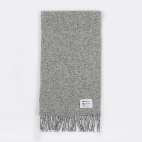 x Johnstons Lambswool Scarf - Ash Grey