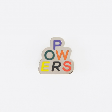 Stacked Powers Pin - Enamel
