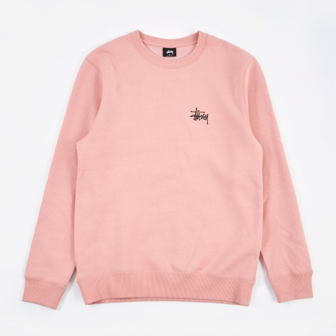 Basic Stussy Crew - Dusty Rose
