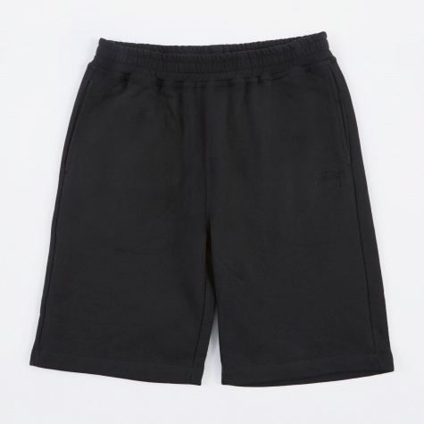 Stock Fleece Short - Black