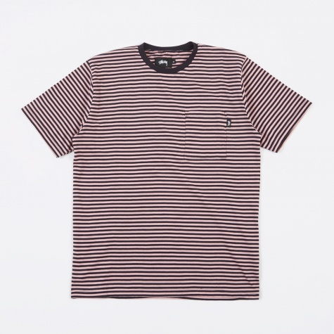 Mini Stripe Jersey - Pink
