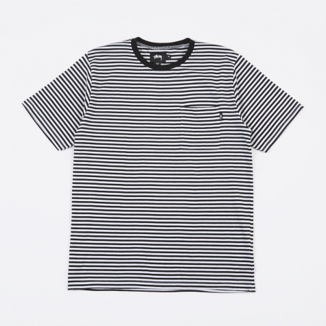 Mini Stripe Jersey - White