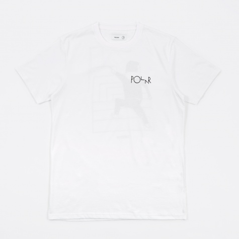 Tres Bien x Polar Skate Co. Dane T-Shirt Print - White