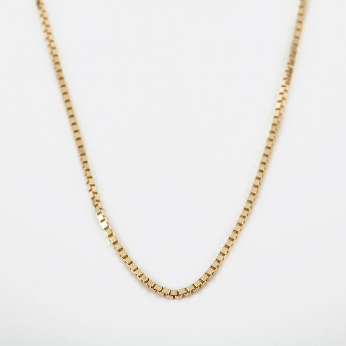 Goods By Goodhood 1.3 Venetian Chain - 9k Yellow Gold (Image 1)