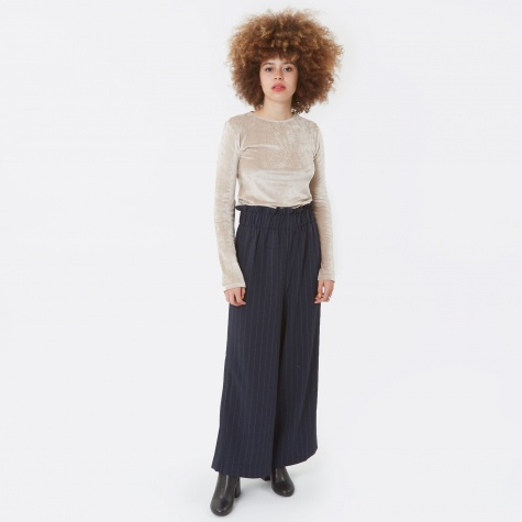 Clark High Waisted Trouser - Total Eclipse