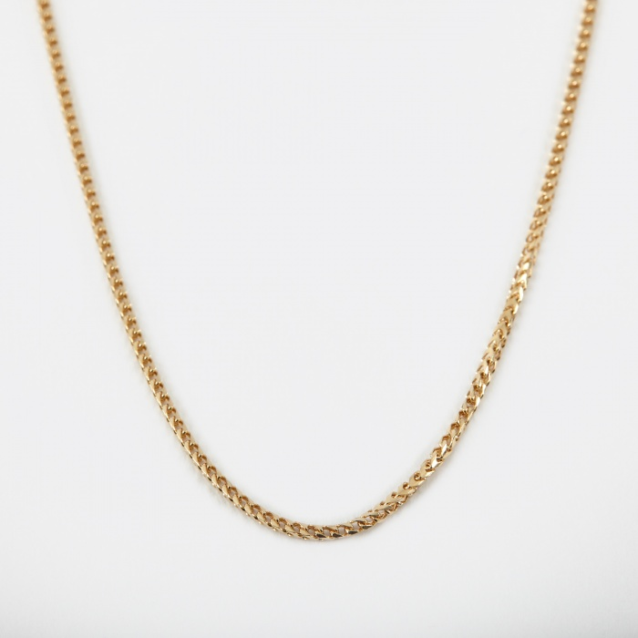 Goods By Goodhood Franco Chain - 9k Yellow Gold (Image 1)