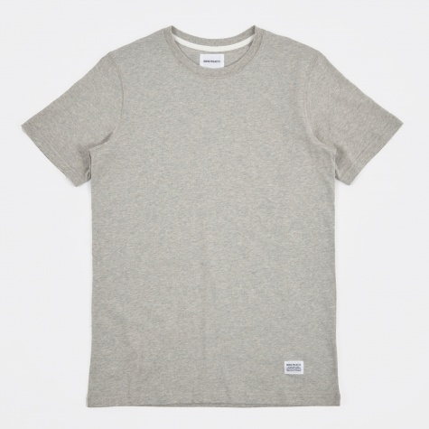 Standard SS T-Shirt - Light Grey Melange