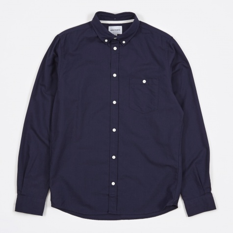 Anton Oxford Shirt - Dark Navy