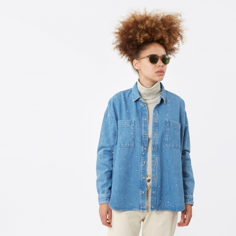 Cassandre Denim Shirt - Blue Denim