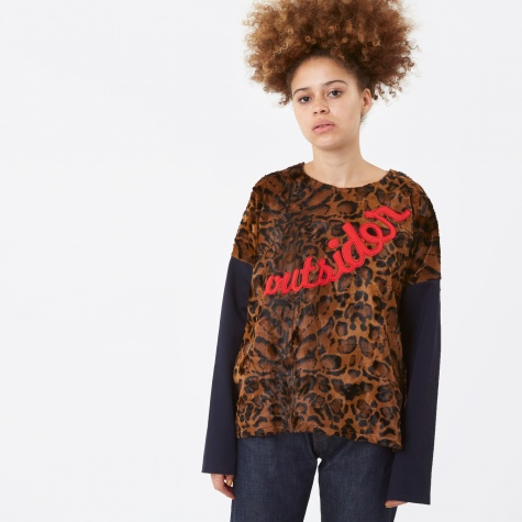 Santiago Sweater - Clouded Leopard