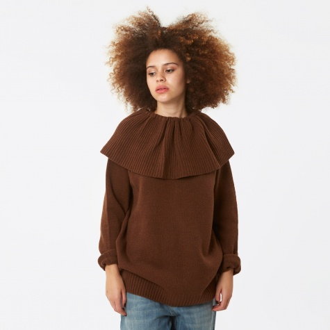 Pierrot Sweater - Chocolate Brown