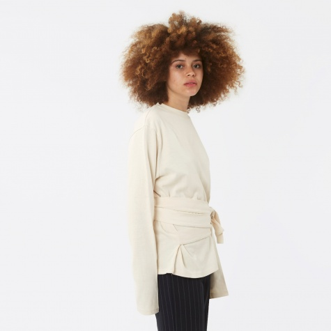 Belted T-Shirt - Ivory
