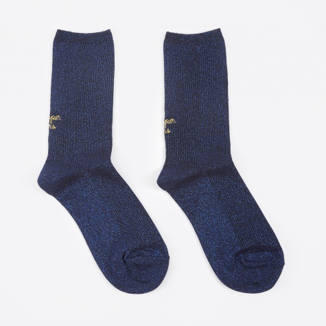 Bumper Cars Socks - Royal Blue