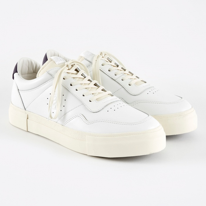 Eytys Arena Leather Sneakers - White (Image 1)