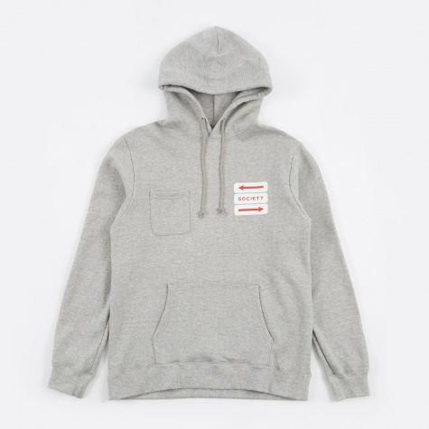 Noyes Hoodie - Heather Grey