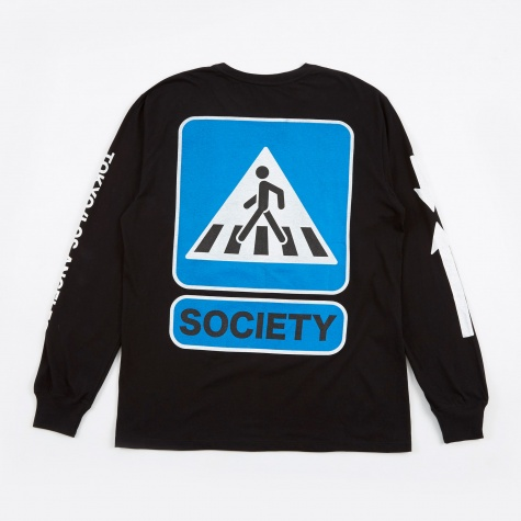 Walkin Longsleeve T-Shirt - Black