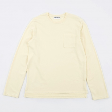 Tres Bien Army Sweatshirt  - Off White