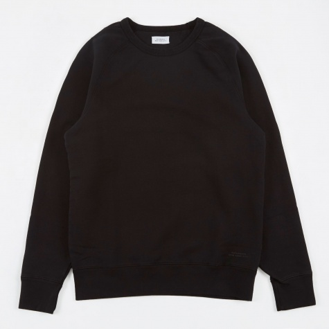 Simon L/S Heavy Weight Crewneck - Black