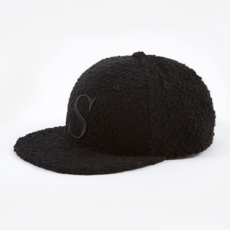Rich S Snap Hat - Black