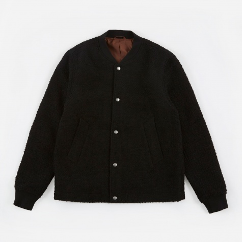 Julian Varsity Jacket - Black