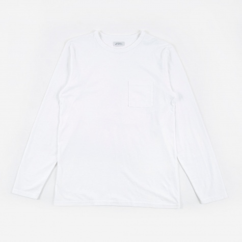 James L/S Pima T-Shirt - White