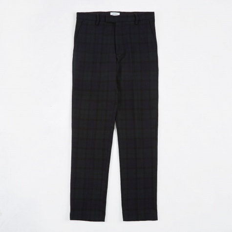 Panos Check Trouser - Black Watch