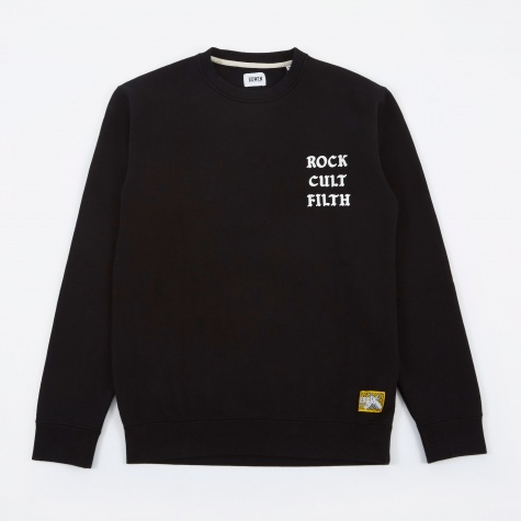 Rock Cult Filth Sweat - Black