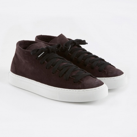Loria Shoe - Black Plum
