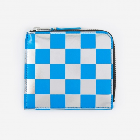 Comme des Garcons Wallet Optical Group (SA3100GB) - Check/Blue