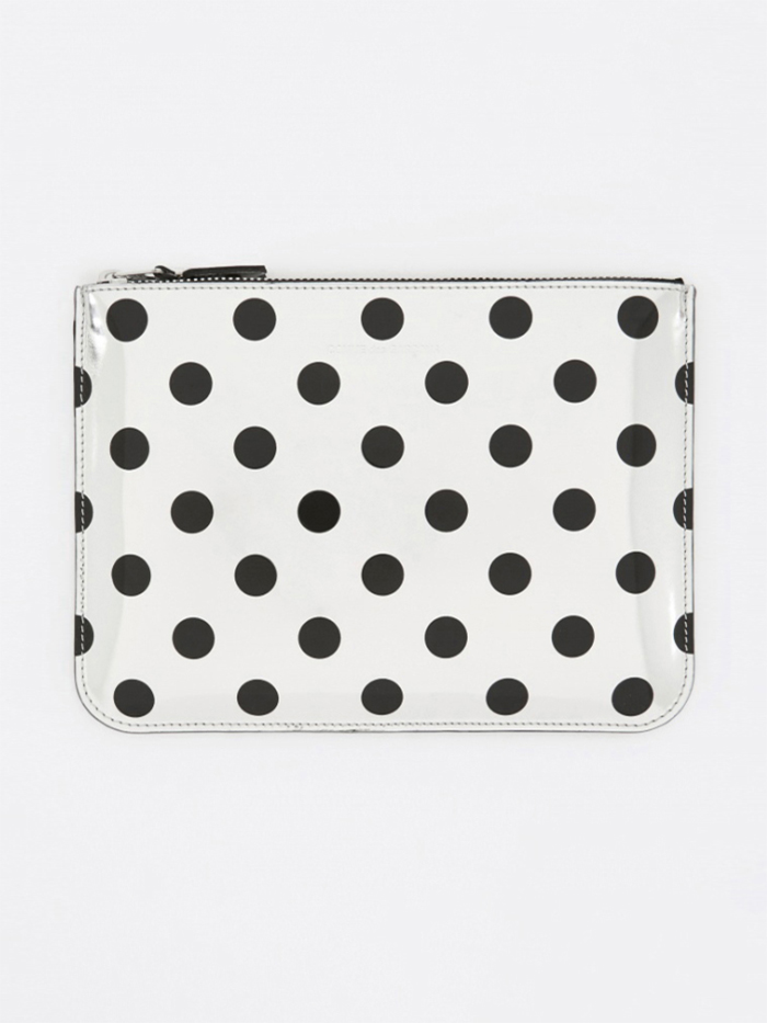 Comme des Garcons Wallets Optical Group (SA5100GA) - Dot/Silver (Image 1)