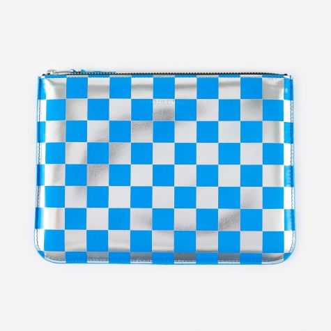 Comme des Garcons Wallet Optical Group (SA5100GB) - Check/Blue