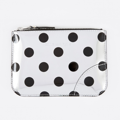 Comme des Garcons Wallet Optical Group (SA8100GA) - Dot/Silver