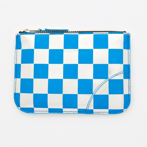 Comme des Garcons Wallet Optical Group (SA8100GB) - Check/Blue