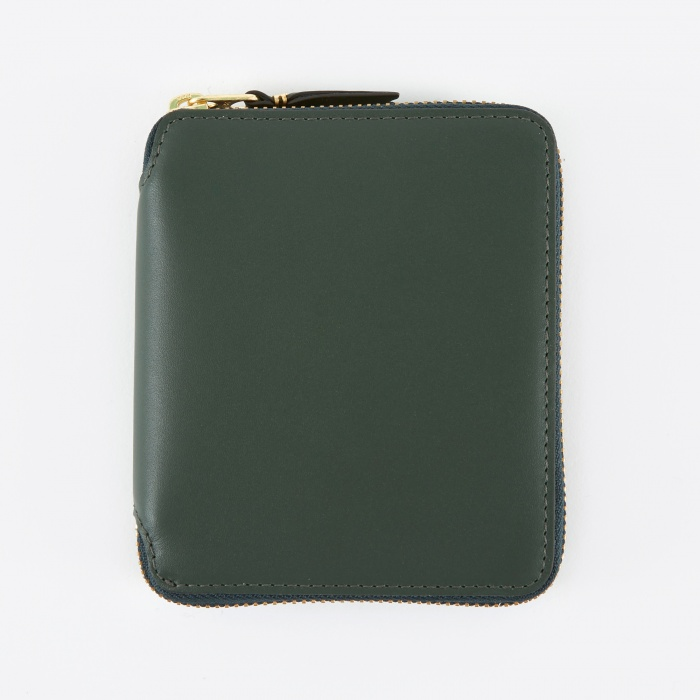 Comme des Garcons Wallets Comme des Garcons Wallet Classic Leather (SA2100) - Bottle Green (Image 1)