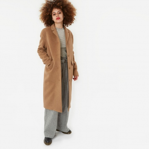 Sassa Hairy Wool Jacket - Camel