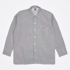 Ben Davis Long Sleeve Work Shirt - Hickory Stripe