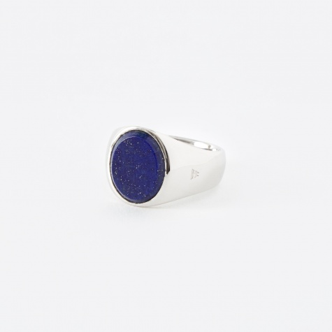 Oval Ring - Blue Lapis