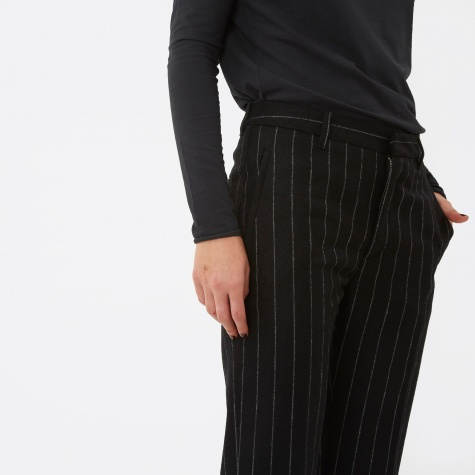 Lobby Trouser - Black Stripe