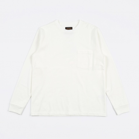 25//2 Crew Pocket T-Shirt - White